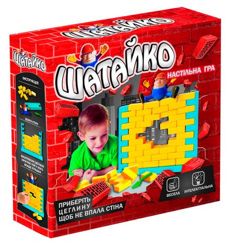 Детская настольная игра Шатайко. Веселая настольная игра.