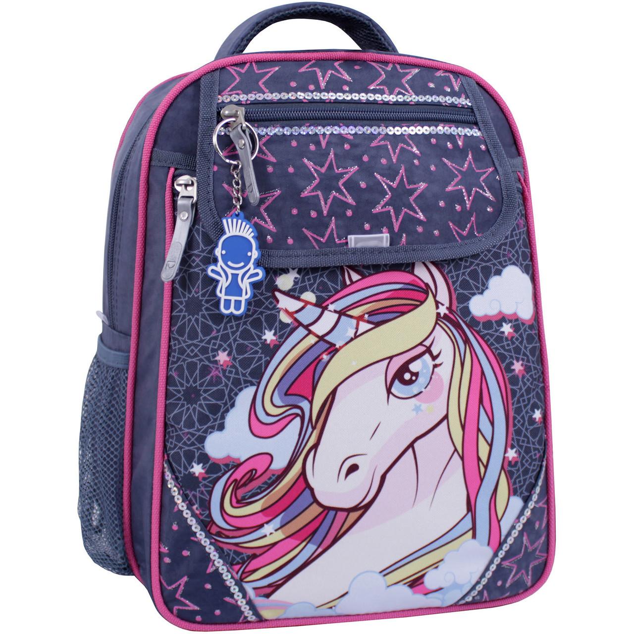 Рюкзак школьный Bagland Отличник  1-4 класс для девочки.