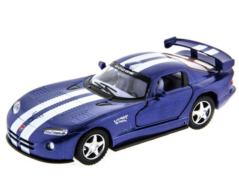 Машинка металлическая Kinsmart Dodge Viper GTS-R KT5039W