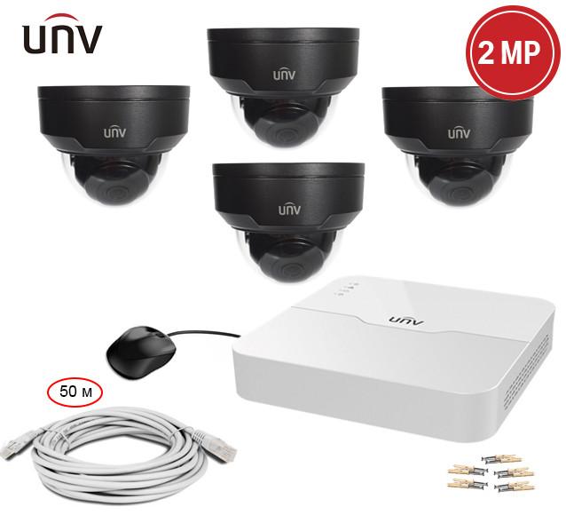 Комплект IP видеонаблюдения Uniview KIT-301P-428B