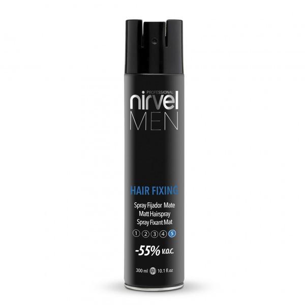 Nirvel. Hair Fixing. Лак – спрей для чоловічих укладок, матовий, 300 мл