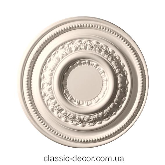 Розетка потолочная, полиуретановая Classic Home  HP-22045,лепной декор из полиуретана.