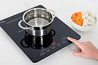 Индукционная плита ERGO IHP-1501 (Slim) — Настольная кухонная плита
