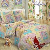 Детский комплект постельного белья Совушка