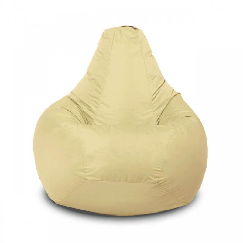Кресло-груша KatyPuf Бежевое нейлон OXFORD