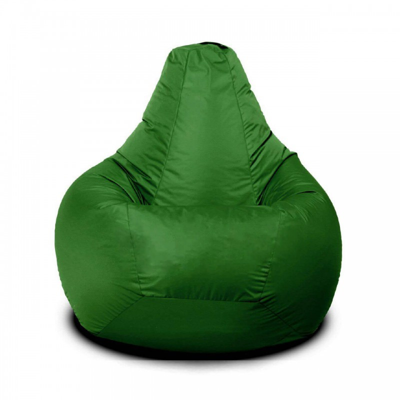 Кресло-груша KatyPuf Зеленое нейлон OXFORD