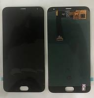 Дисплей модуль Meizu MX5 в зборі з тачскріном, чорний