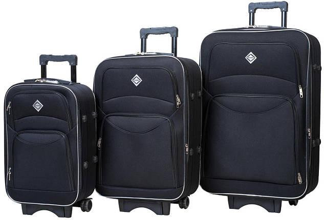 Набор чемоданов Bonro Style 3 штуки черный (10010300), фото 2
