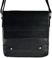 Сумка мужская Bonro через плечо черная Model 2 (14000001)