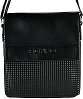 Сумка мужская Bonro через плечо черная Model 3 (14000002)