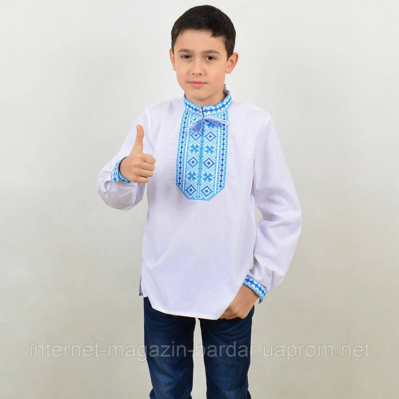 """Детская вышиванка для мальчика """"Виталик"""""""