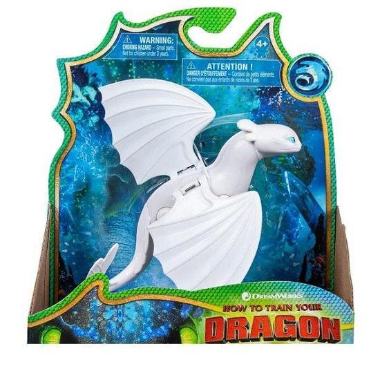 Как приручить дракона 3: коллекционная фигурка дракона Дневной фурии с механической функцией  Spin Master