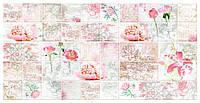 Декоративная настенная панель ПВХ плитка Романтика