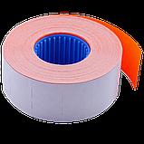 Цінник 26*16мм (1000шт, 16м) прямокутний, внутрішня намотування асорті, фото 5