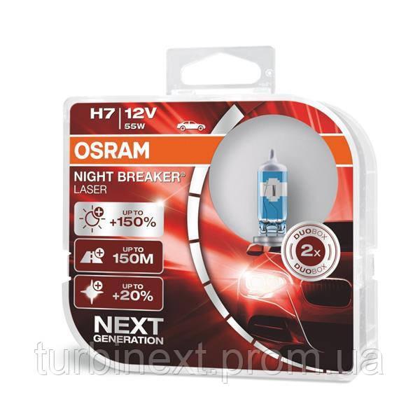 Автолампа галогенная 55W OSRAM OS 64210NL-HCB