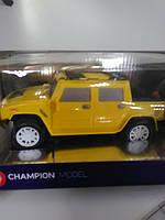 Машина на управление желтая джип