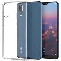 Прозрачный силиконовый чехолдля Huawei P20 Lite
