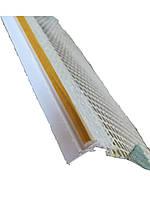 Профиль оконный примыкания 9мм с манжетой и сеткой Valmiera, фото 1