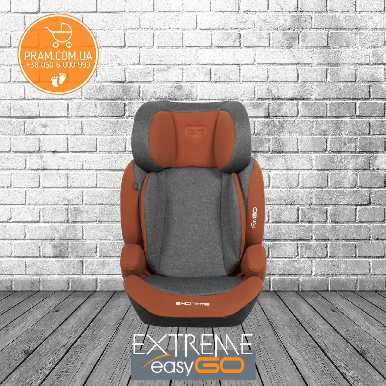EasyGO EXTREME автокресло группы 2-3 (15-36 кг) Copper Оранжевый, фото 1