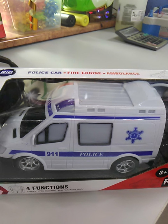 Машина на управление Police car
