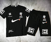 Мужской спортивный костюм (футболка и шорты) Nike Lion king, фото 1