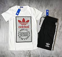 Мужской спортивный костюм (футболка и шорты) Adidas Evidence