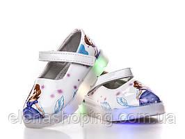 Модные туфельки для девочки (р24 14.5см)