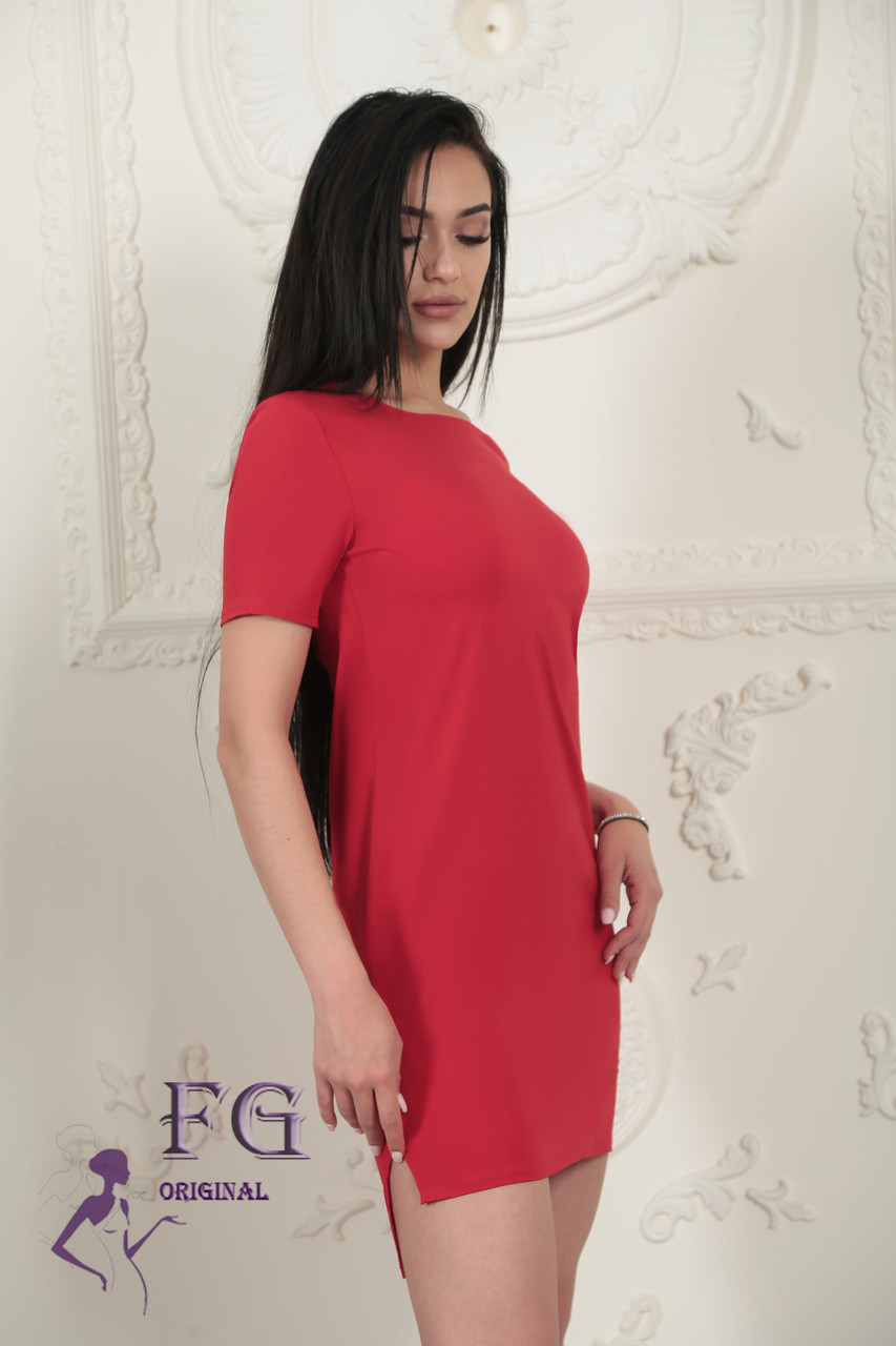 Стильно женское летнее платье Невада асимметричного кроя