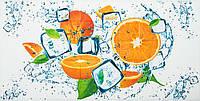 Декоративная настенная панель ПВХ плитка Апельсин