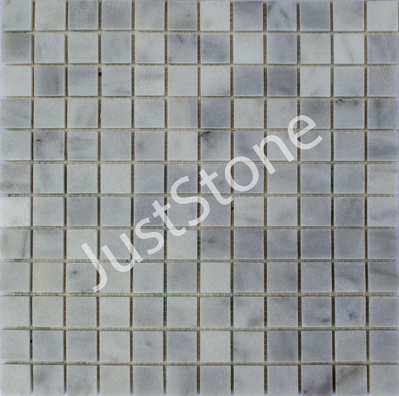Мраморная Мозаика Полированная МКР-2П (23x23) 6 мм White Mix