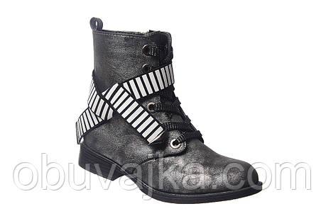 Демисезонная обувь оптом Модные подростковые ботинки оптом от фирмы Tom m(рр 32-37), фото 2
