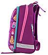 556024 Яркий каркасный рюкзак 1 Вересня H-12 Cute cats  29*38*15, фото 4