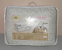 Одеяло полуторное в подарочном чемодане (ткань микрофибра наполнитель овечья шерсть) (X-521), фото 1