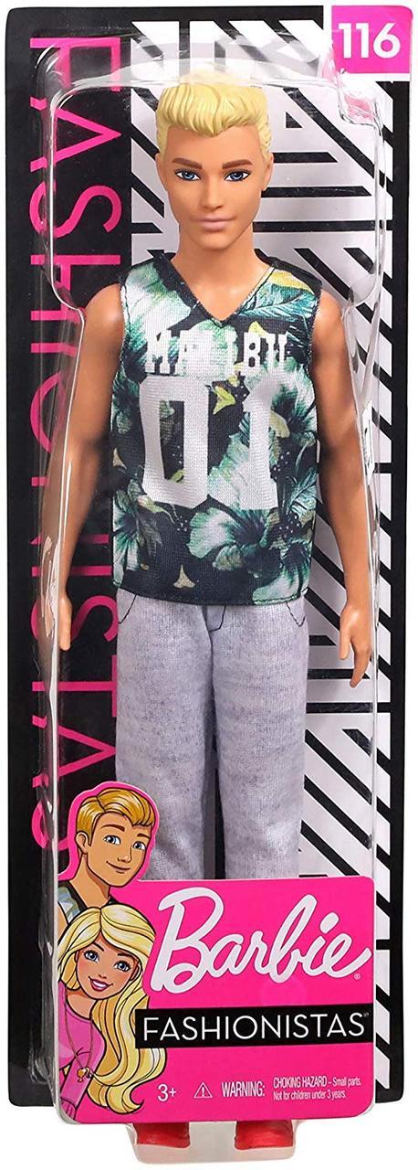 Кукла Барби Кен Модник - Barbie Ken Fashionistas (FXL63)