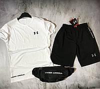 Мужской спортивный костюм (футболка и шорты)