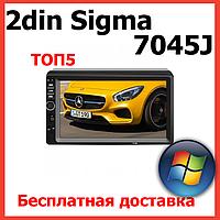 2din магнитола Sigma 7045j. Автомагнитола с сенсорным экраном