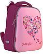 556040 Школьный каркасный рюкзак 1 Вересня H-12 Delicate butterflies 29*38*15, фото 2