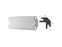 Угловой карниз Tesori LED KD 203, Светодиодные системы непрямого освещения из пенополистирола.