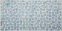 Панель листовая декоративная ПВХ мозаика Лазурь