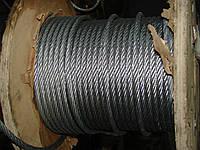 Канат стальной Трос 11,5 мм Гост 7668-80
