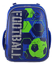 555946 Рюкзак школьный каркасный 1 Вересня H-12 Football  29*38*15