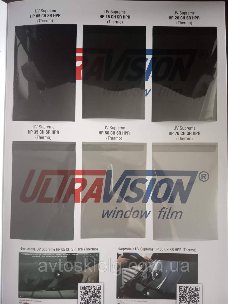 Тонувальна Плівка  Ultra Vision Supreme ( Thermo )