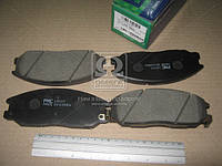 Колодка тормозная дисковая SSANGYONG REXTON(Y200/250) (пр-во PARTS-MALL) (арт. PKA-027)