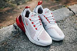 🔰Мужские кроссовки Nike Air Max 270 Бело-Красные