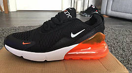 🔰Мужские кроссовки Nike Air Max 270 Чёрно- Красные