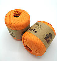 Пряжа Raffia Fibranatura, цвет Оранжевый