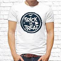 "Мужская футболка с принтом ""Trick or treat"" Push IT"