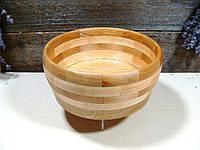 Деревянная сегментная конфетница, тарелка, ваза для фруктов