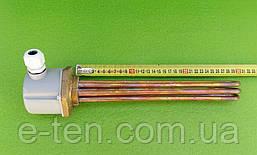 """Блок-тен МІДНИЙ 4500W (220-380V) / на різьбі 1,5"""" (48мм) / L=295мм Thermowatt, Італія"""