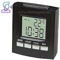 Говорящие часы 7027С — Настольные часы с озвучиванием времени